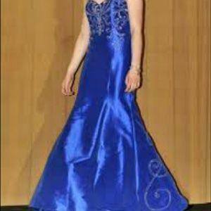 Blue Jovani Gown